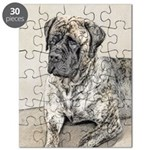 English Mastiff (Brindle) Puzzle