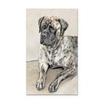 English Mastiff (Brindle) Rectangle Car Magnet