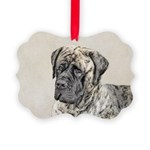 English Mastiff (Brindle) Picture Ornament