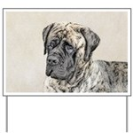 English Mastiff (Brindle) Yard Sign