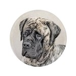 English Mastiff (Brindle) Button