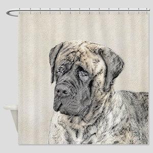 English Mastiff (Brindle) Shower Curtain