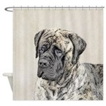 English Mastiff (Brindle) Shower Curtain