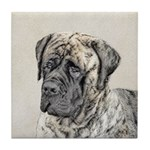 English Mastiff (Brindle) Tile Coaster