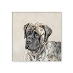 English Mastiff (Brindle) Square Sticker 3