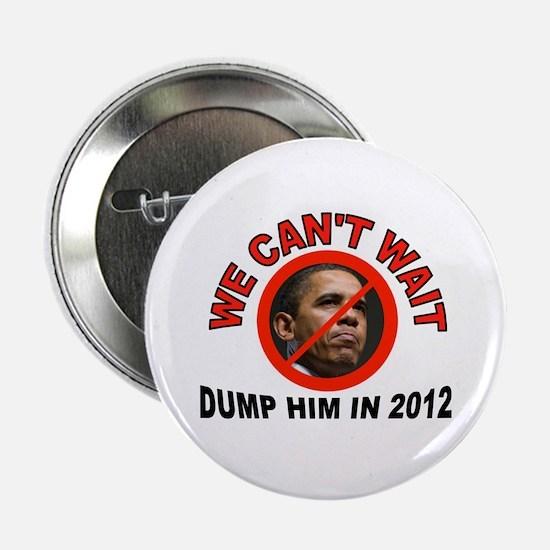 "DUMP HIM 2.25"" Button (10 pack)"