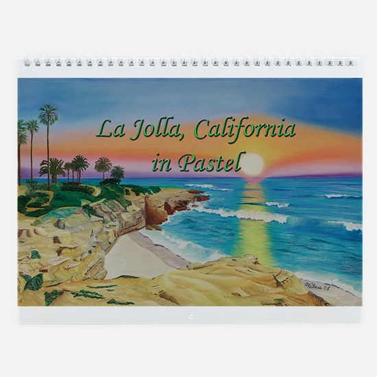 La Jolla, California in Pastel 2013 Calendar