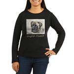 English Mastiff ( Women's Long Sleeve Dark T-Shirt