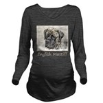 English Mastiff (Bri Long Sleeve Maternity T-Shirt