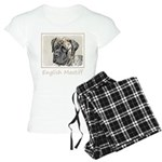 English Mastiff (Brindle) Women's Light Pajamas