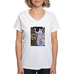 The Rose Faries Women's V-Neck T-Shirt