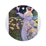 The Rose Faries Ornament (Round)