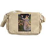 The Rose Faries Messenger Bag