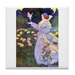 The Rose Faries Tile Coaster