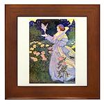 The Rose Faries Framed Tile