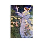 The Rose Faries Rectangle Magnet (100 pack)