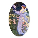The Rose Faries Sticker (Oval 50 pk)
