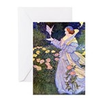 The Rose Faries Greeting Cards (Pk of 10)