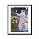 The Rose Faries Framed Panel Print