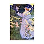 The Rose Faries Mini Poster Print