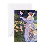 The Rose Faries Greeting Card