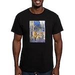 Twilight Fairies Men's Fitted T-Shirt (dark)