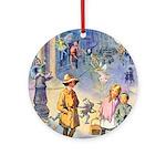 Twilight Fairies Ornament (Round)