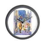 Twilight Fairies Wall Clock