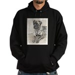 English Mastiff (Brindle) Hoodie (dark)