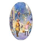 Twilight Fairies Sticker (Oval)