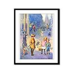Twilight Fairies Framed Panel Print