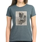 English Mastiff (Brindle) Women's Dark T-Shirt