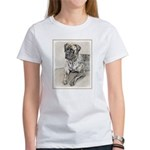 English Mastiff (Bri Women's Classic White T-Shirt
