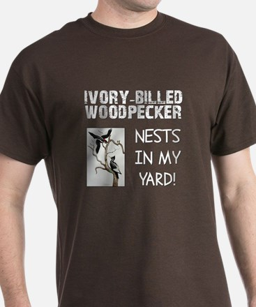 Ivory-billed Woodpecker Nests T-Shirt