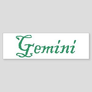 Gemini Bumper Sticker