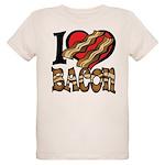 I Love Bacon Organic Kids T-Shirt