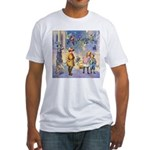 Twilight Fairies Fitted T-Shirt
