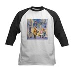 Twilight Fairies Kids Baseball Jersey