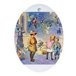 Twilight Fairies Ornament (Oval)