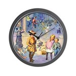 Twilight Fairies Wall Clock