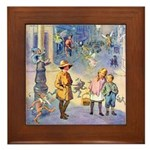 Twilight Fairies Framed Tile