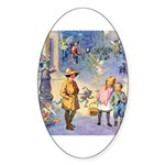 Twilight Fairies Sticker (Oval 50 pk)