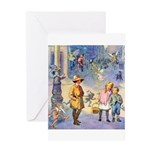 Twilight Fairies Greeting Card