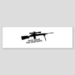 VFTR-Black-w_Transparent-BG Bumper Sticker