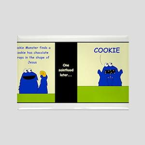 Cookie Stigmata Rectangle Magnet