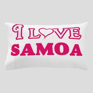 I love Samoa Pillow Case