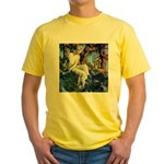 Queen of the Gnomes Yellow T-Shirt