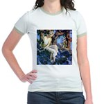 Queen of the Gnomes Jr. Ringer T-Shirt