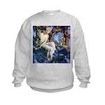 Queen of the Gnomes Kids Sweatshirt