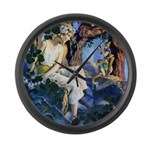 Queen of the Gnomes Large Wall Clock